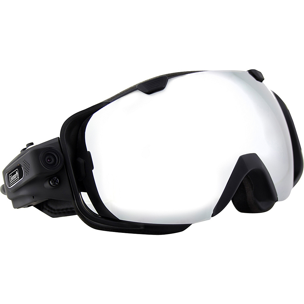 Coleman VisionHD 1080p HD 5.0 MP Wearable POV Digital Camera Video Snow Goggles Black Coleman Wearable Technology