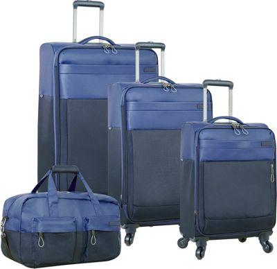 Nautica Harpswell 4 Piece Set Blue - Nautica Luggage Sets