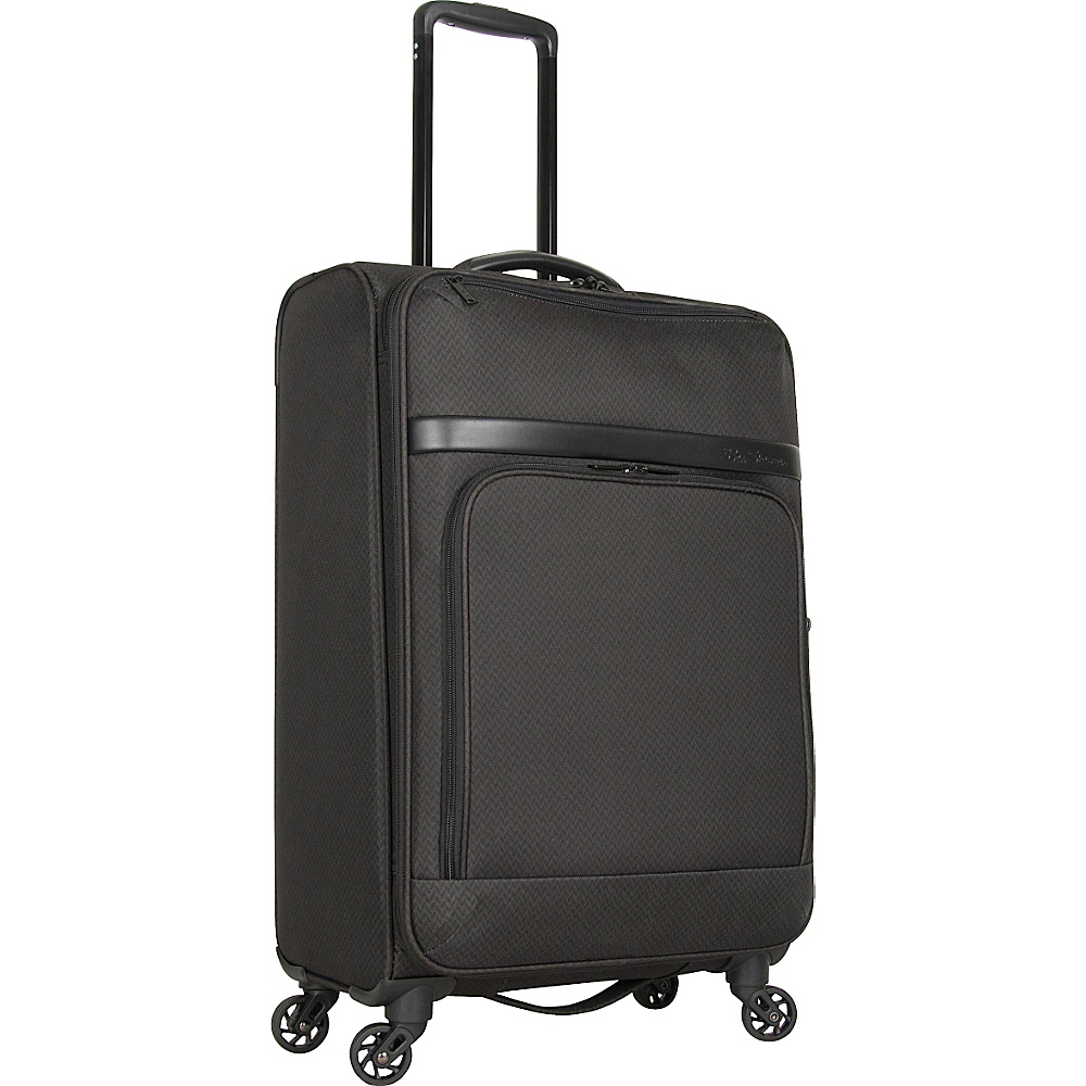 Ben Sherman Luggage York Collection 24 Upright Luggage Dark Forest Herringbone Ben Sherman Luggage Softside Checked