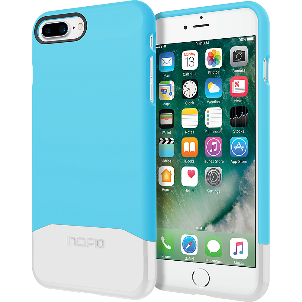 Incipio Edge Chrome for iPhone 7 Plus Sky Blue/Silver(SBS) - Incipio Electronic Cases - Technology, Electronic Cases