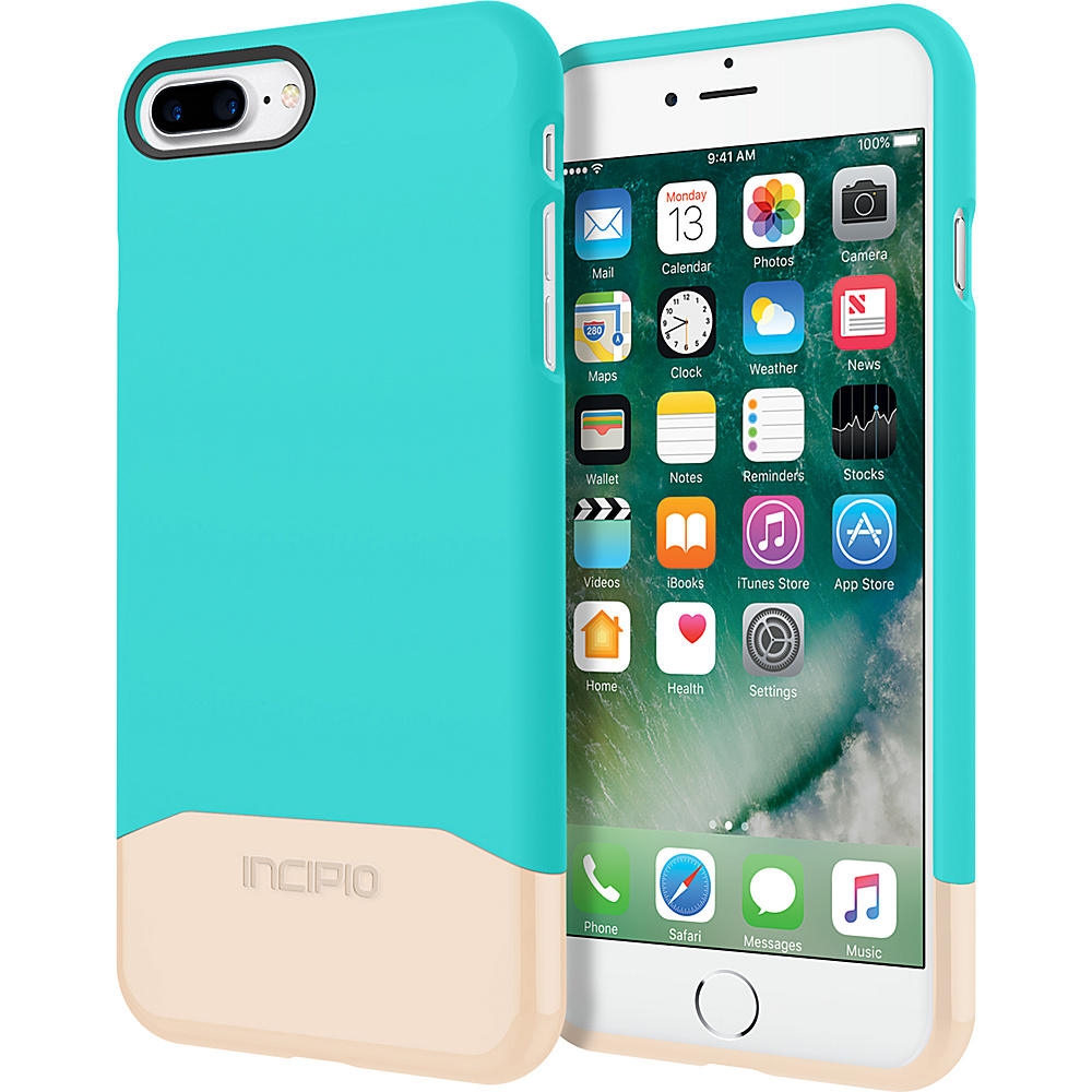 Incipio Edge Chrome for iPhone 7 Plus Turquoise/Champagne Chrome(TQC) - Incipio Electronic Cases - Technology, Electronic Cases