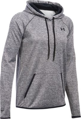 Under Armour Storm Armour Fleece Icon Hoodie-Twist XS - Black - Under Armour Women's Apparel