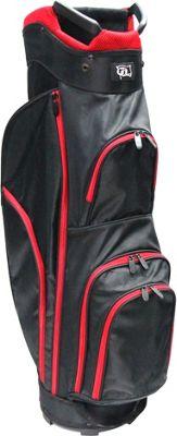 RJ Golf Starter Bag Black/Red - RJ Golf Golf Bags