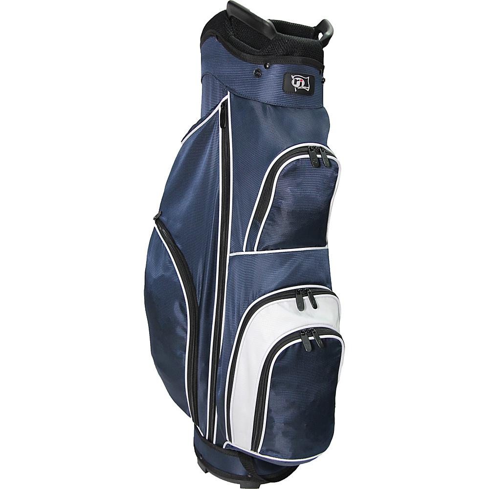 RJ Golf Starter Bag Navy/White - RJ Golf Golf Bags