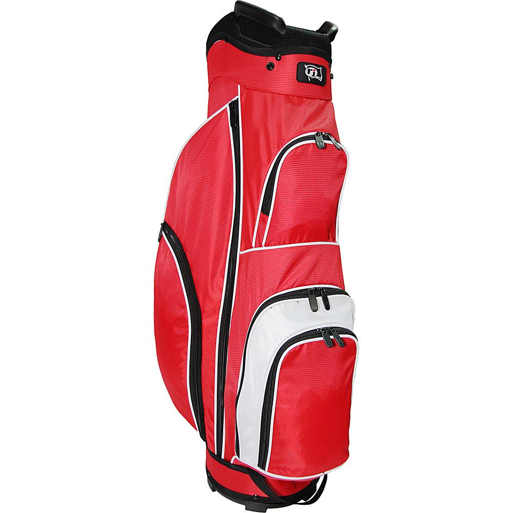 RJ Golf Starter Bag Red/White - RJ Golf Golf Bags