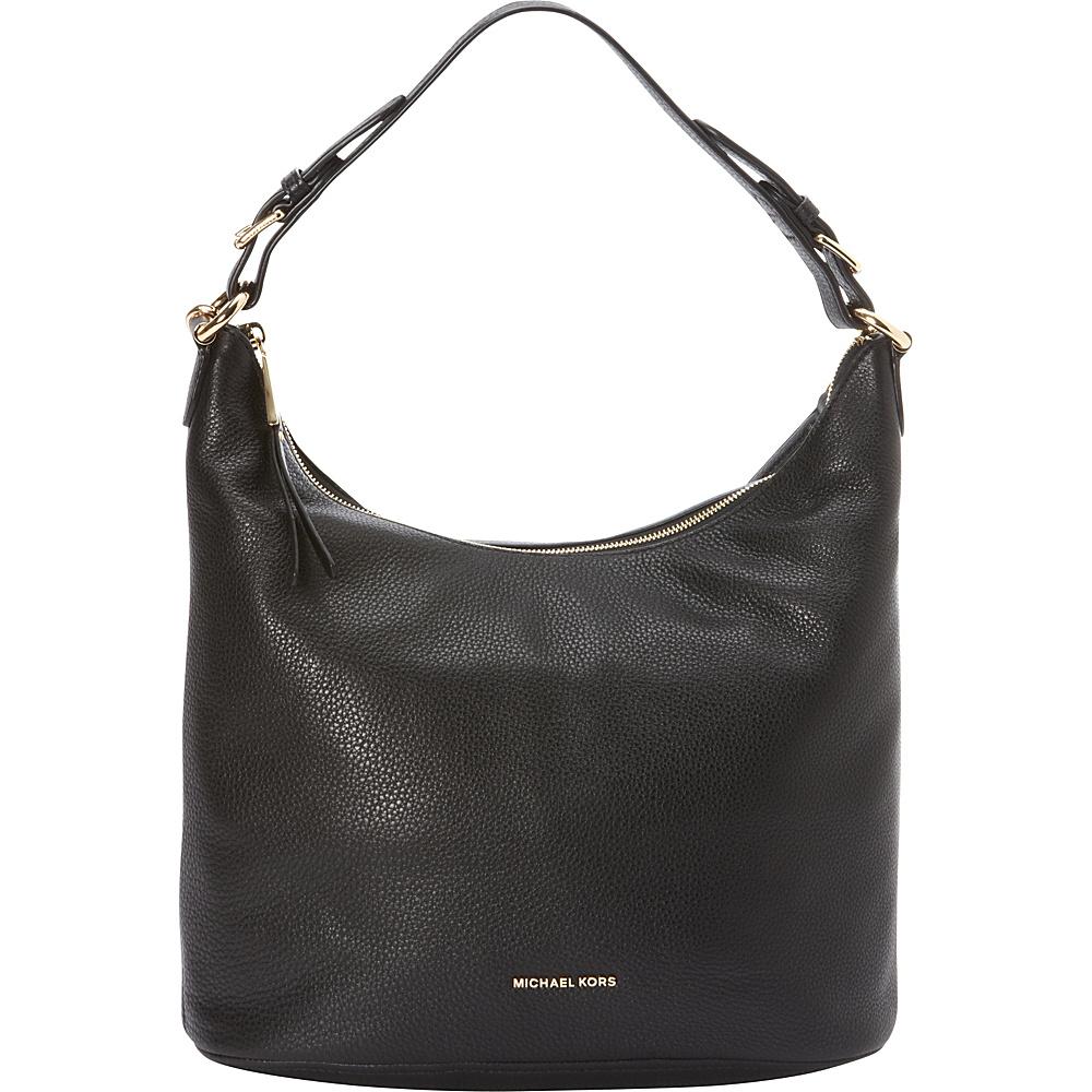 MICHAEL Michael Kors Lupita Large Hobo Black MICHAEL Michael Kors Designer Handbags