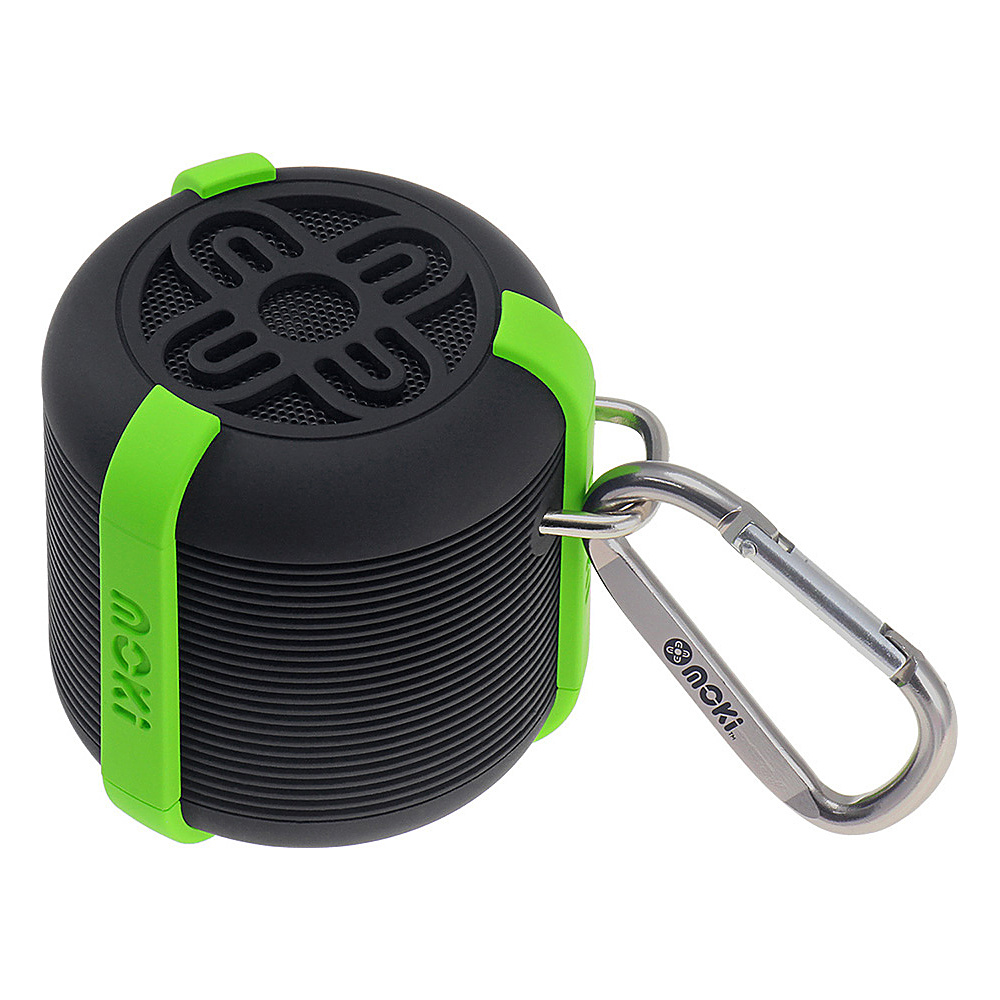Moki AquaBass Speaker Black Green Moki Headphones Speakers