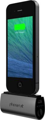 PhoneSuit Flex XT Pocket Charger for iOS Lightning Devices Black Metallic - PhoneSuit Portable Batteries & Chargers