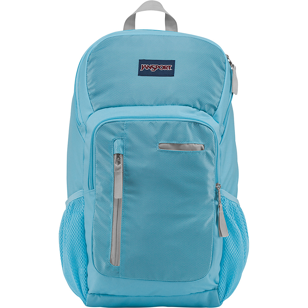 JanSport Impulse Laptop Backpack Blue Topaz Triangle Dobby - JanSport Business & Laptop Backpacks