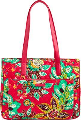 Vera Bradley Commuter Tote Rumba - Vera Bradley Fabric Handbags