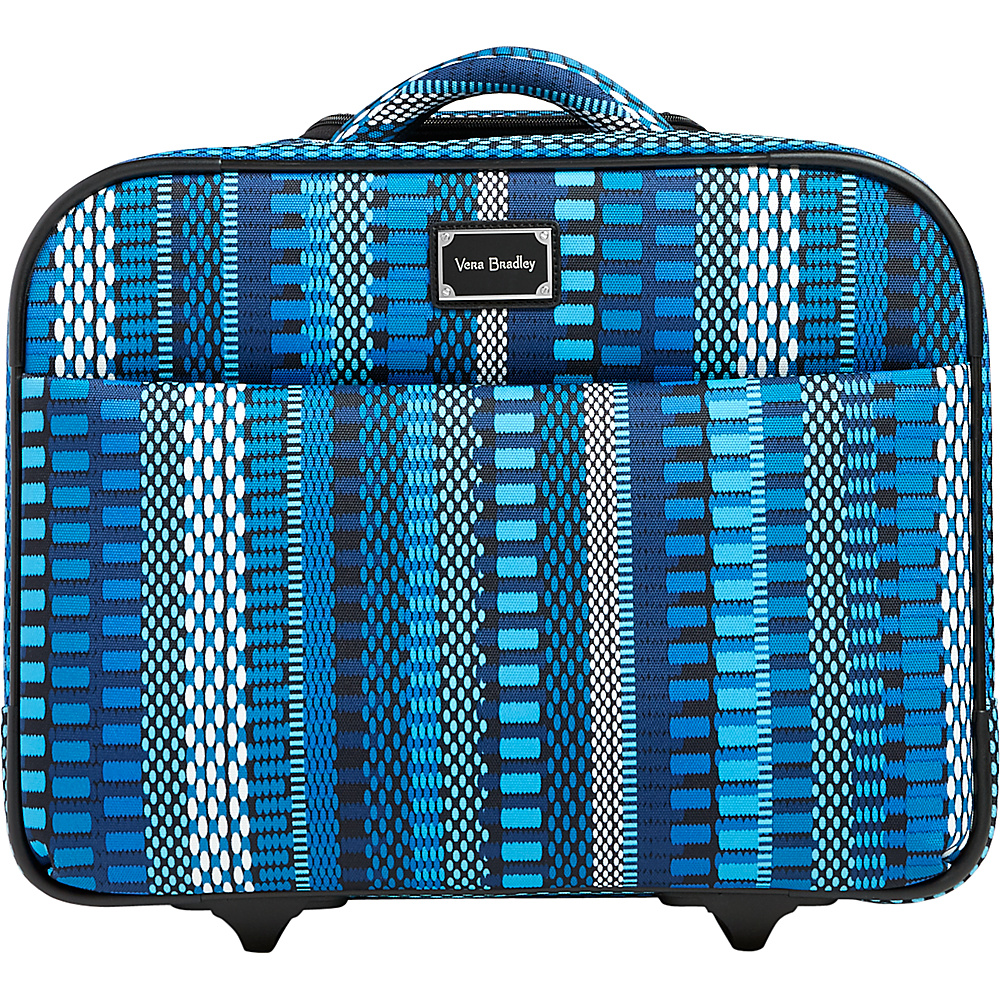Vera Bradley 17 On a Roll Work Bag Cha-Cha Blue - Vera Bradley Softside Carry-On - Luggage, Softside Carry-On