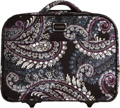 "Vera Bradley 17"" On a Roll Work Bag Paisley Petals - Vera Bradley Softside Carry-On"