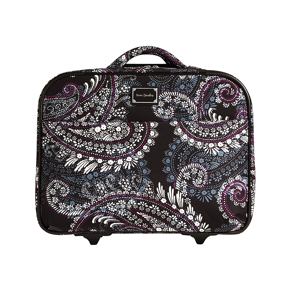 Vera Bradley 17 On a Roll Work Bag Paisley Petals - Vera Bradley Softside Carry-On - Luggage, Softside Carry-On