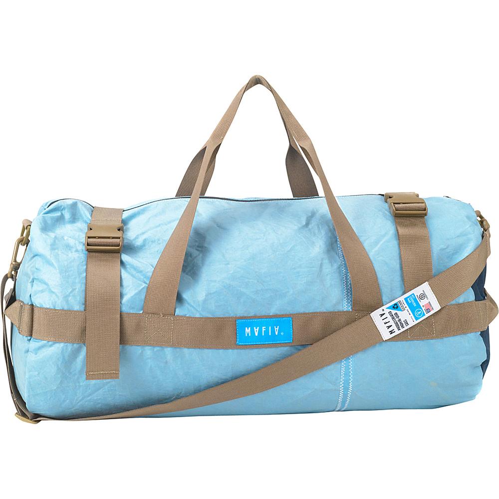 Mafia Bags Tubo Duffel Blue Sky Mafia Bags Travel Duffels