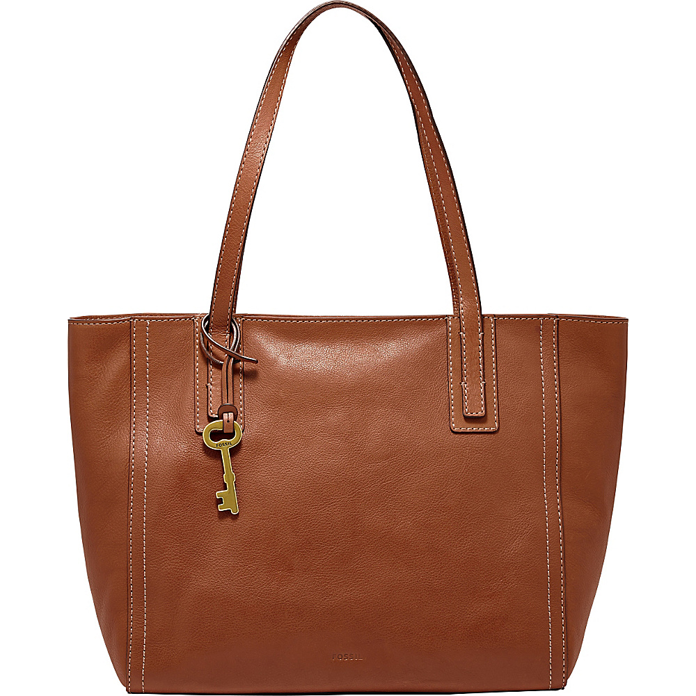 Fossil Emma Tote Brown - Fossil Leather Handbags - Handbags, Leather Handbags