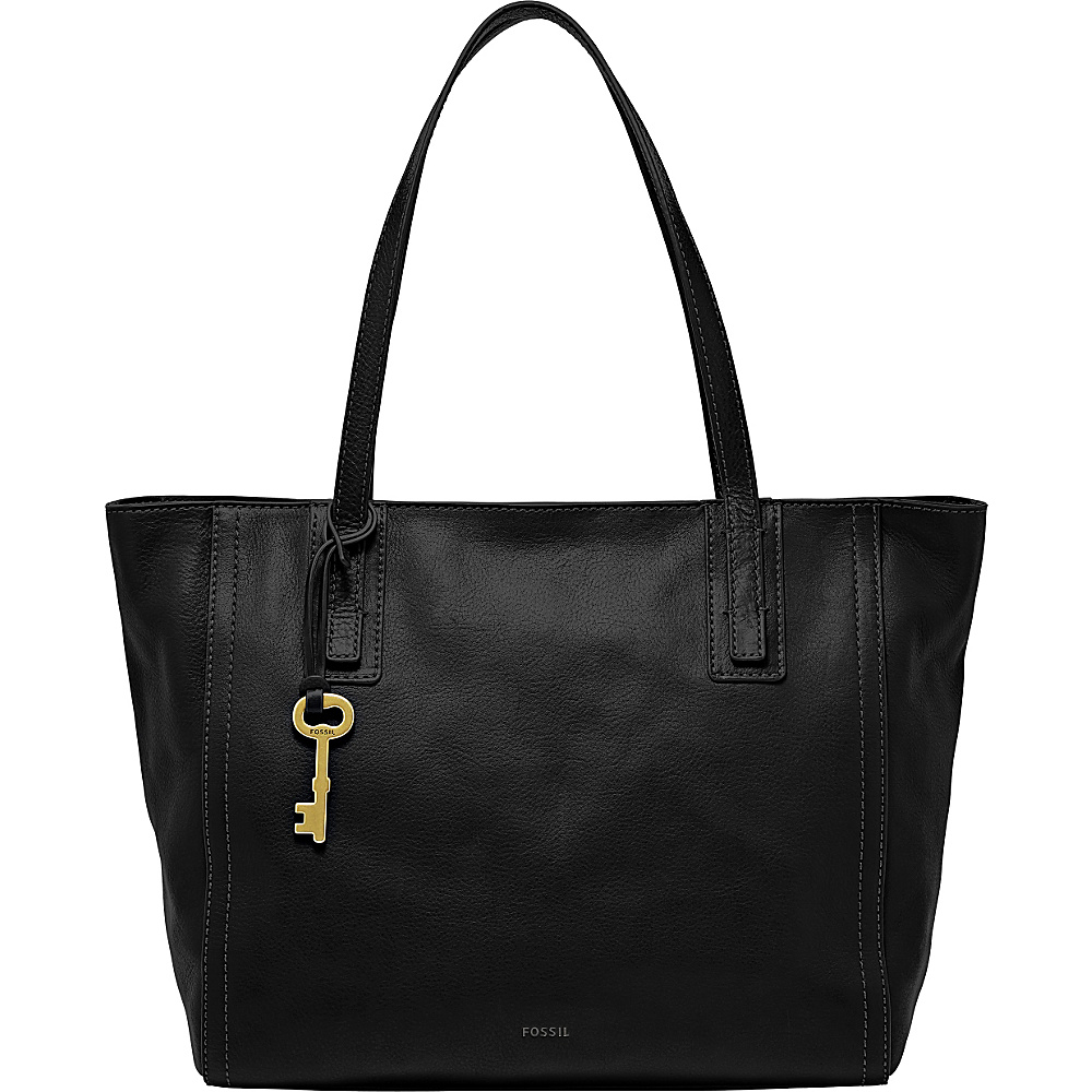 Fossil Emma Tote Black - Fossil Leather Handbags - Handbags, Leather Handbags