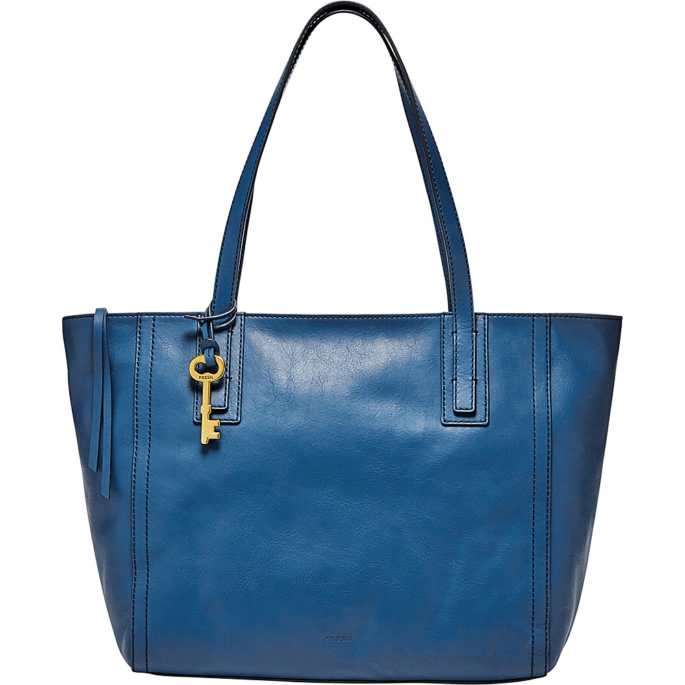 Fossil Emma Tote Marine - Fossil Leather Handbags - Handbags, Leather Handbags