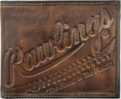 Rawlings Fielder's Choice Bifold Wallet Glove Brown - Rawlings Men's Wallets