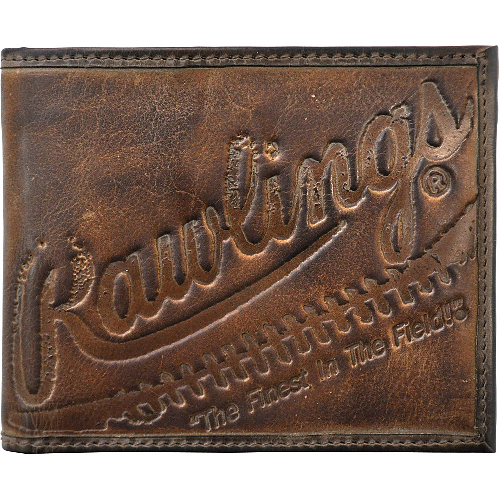 Rawlings Fielder s Choice Bifold Wallet Glove Brown Rawlings Men s Wallets