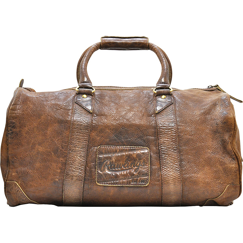 Rawlings Origins 19 Duffle Glove Brown Rawlings Rolling Duffels