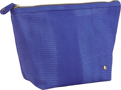 Stephanie Johnson Galapagos Laura Large Trapezoid Cosmetic Bag Deep Purple - Stephanie Johnson Travel Health & Beauty