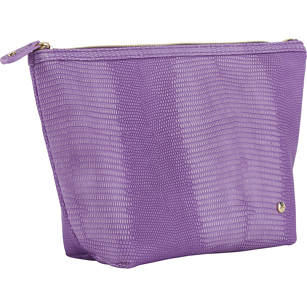 Stephanie Johnson Galapagos Laura Large Trapezoid Cosmetic Bag Deep Orchid Stephanie Johnson Women s SLG Other