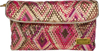 Stephanie Johnson Stephanie Johnson Istanbul Katie Folding Cosmetic Bag Pink - Stephanie Johnson Women's SLG Other