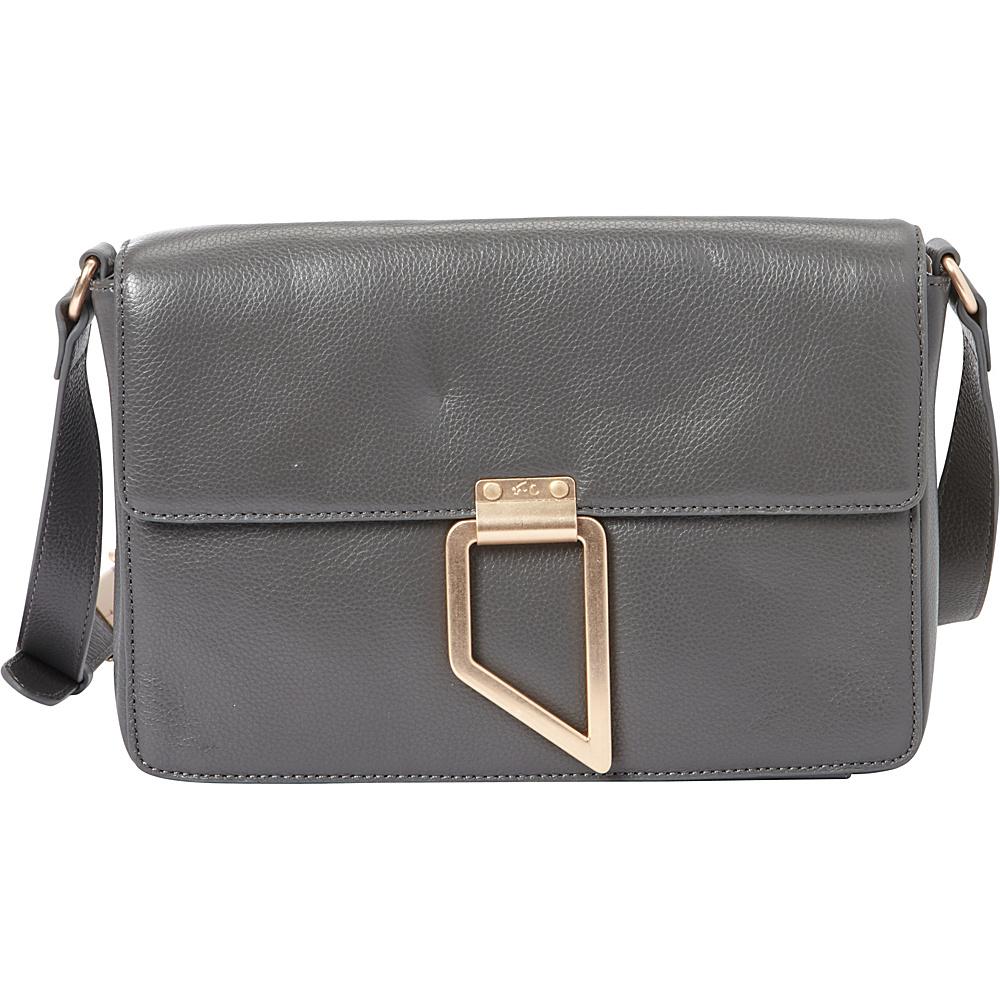 Foley Corinna Valerie Shoulder Bag Luna Smoke Foley Corinna Designer Handbags