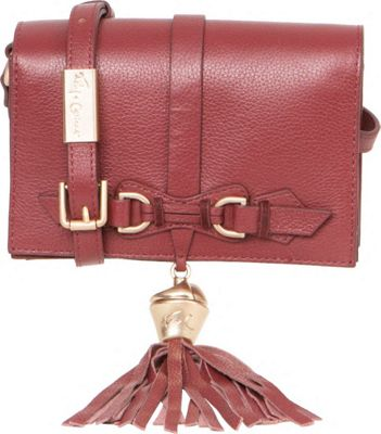 Foley + Corinna Bo Crossbody Bordeaux - Foley + Corinna Designer Handbags