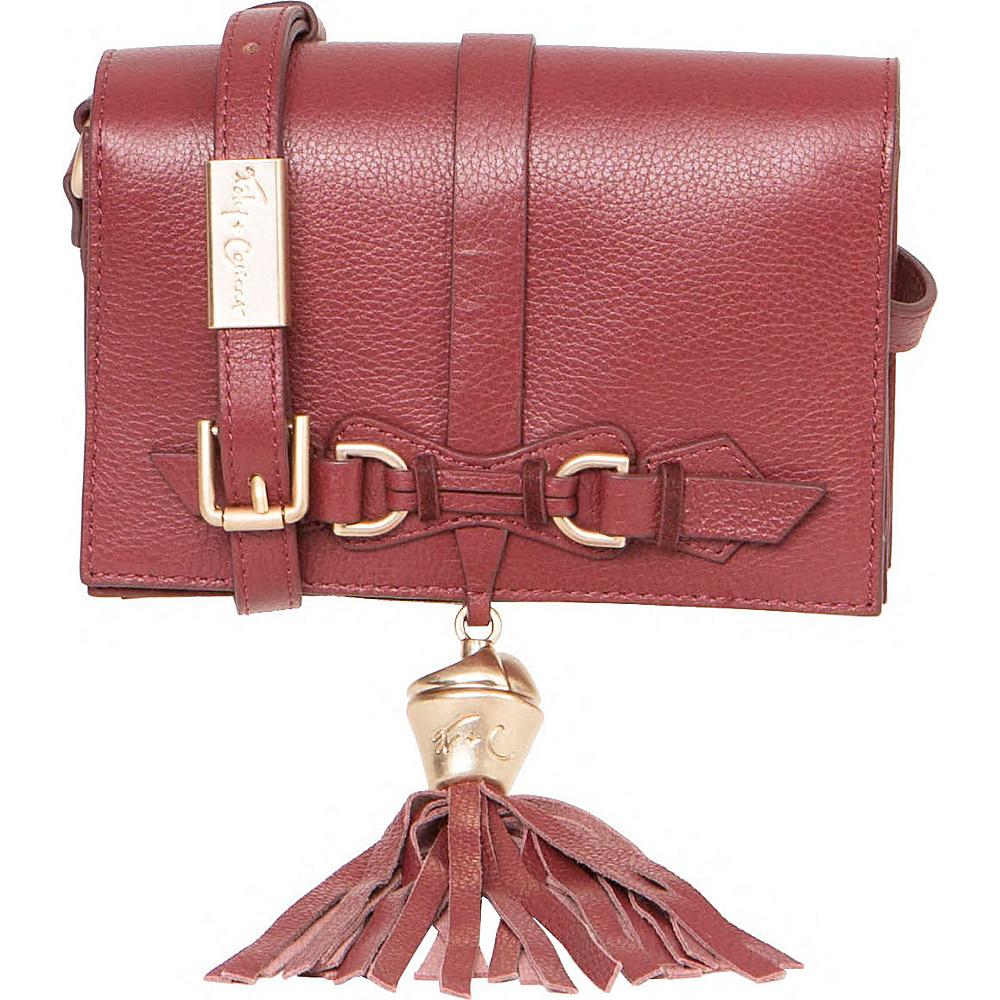 Foley Corinna Bo Crossbody Bordeaux Foley Corinna Designer Handbags