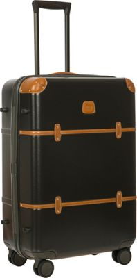 BRIC'S Bellagio 2.0 27 inch Spinner Trunk Olive - BRIC'S Softside Checked