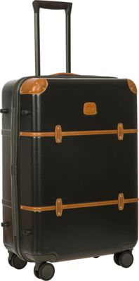 BRIC'S Bellagio 2.0 27 inch Spinner Trunk Black - BRIC'S Softside Checked