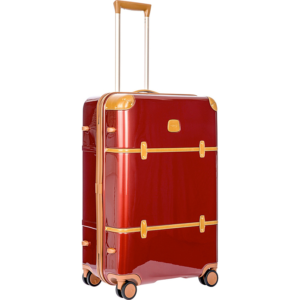 BRIC S Bellagio 2.0 27 Spinner Trunk Shiny Red BRIC S Softside Checked