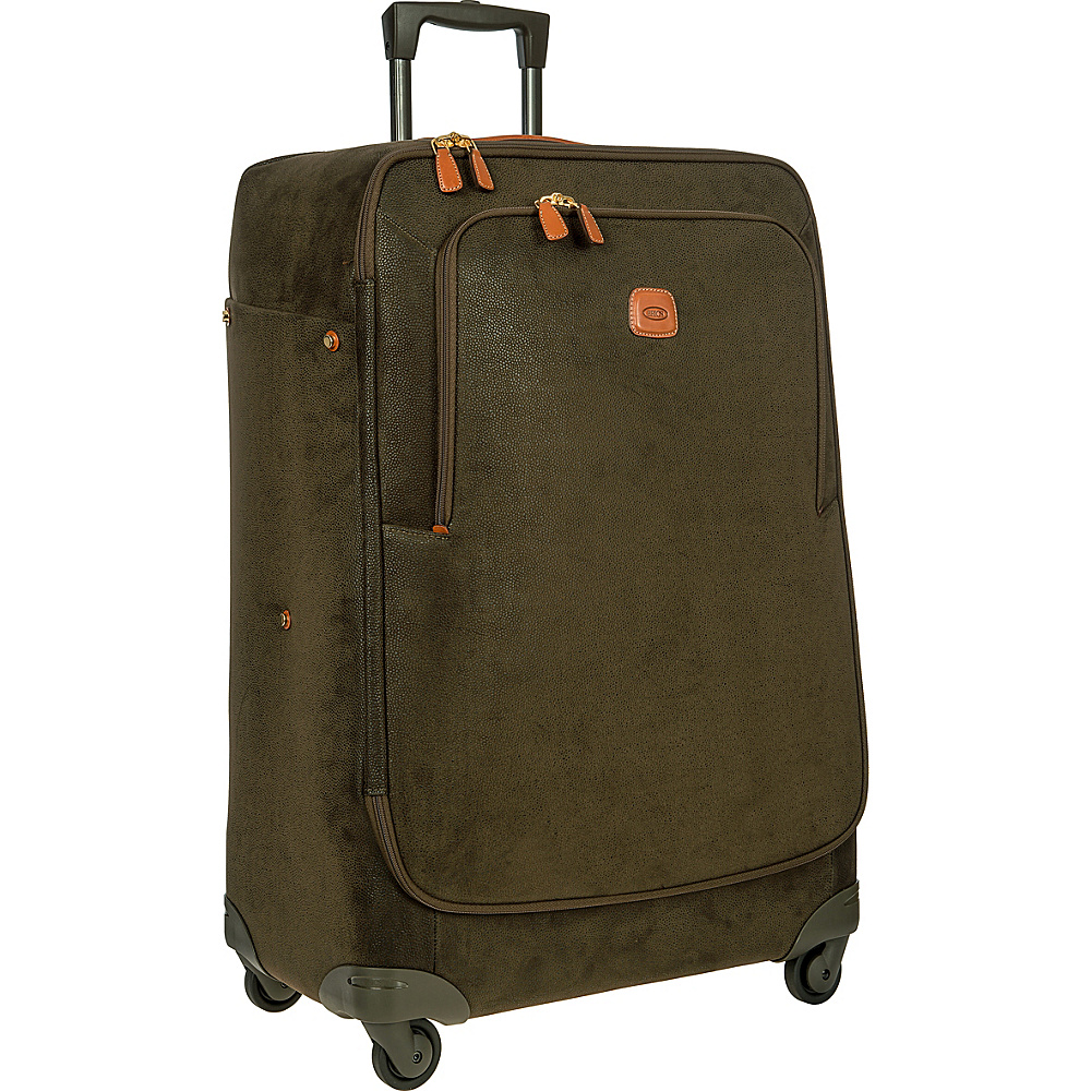 BRIC S Life 32 Light Spinner Olive BRIC S Softside Checked