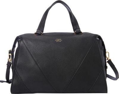 Vince Camuto Blaza Satchel Black - Vince Camuto Designer Handbags