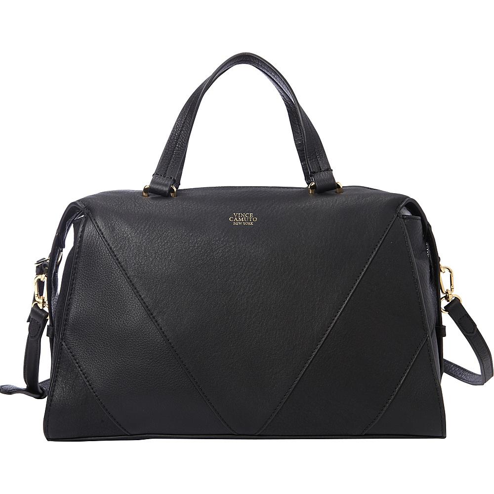 Vince Camuto Blaza Satchel Black Vince Camuto Designer Handbags