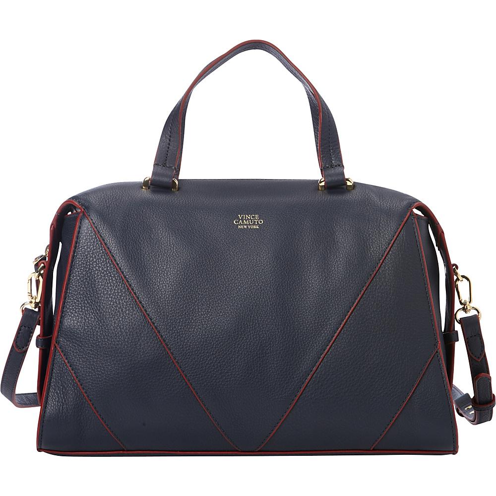 Vince Camuto Blaza Satchel Graphite Vince Camuto Designer Handbags