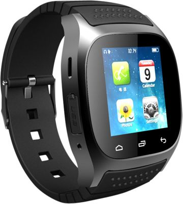 Koolulu Kooluwatch For Android and iOS Black - Koolulu Wearable Technology