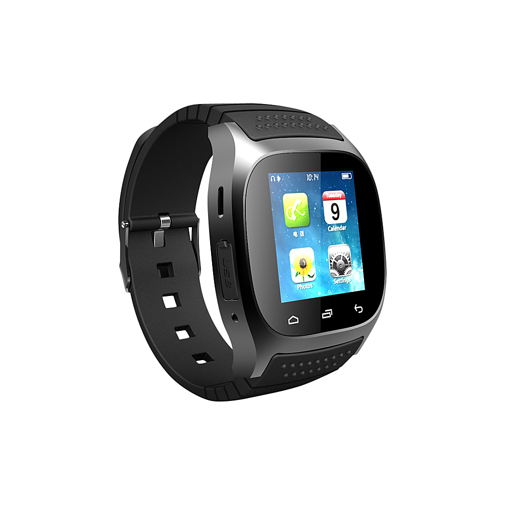 Koolulu Kooluwatch For Android and iOS Black Koolulu Wearable Technology