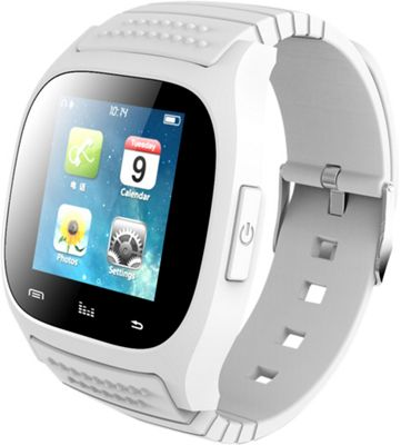 Koolulu Kooluwatch For Android and iOS White - Koolulu Wearable Technology