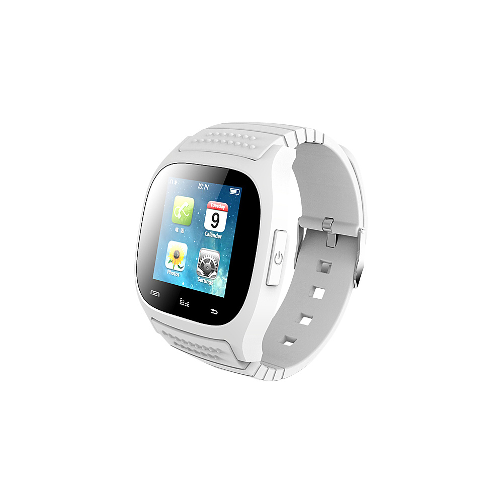Koolulu Kooluwatch For Android and iOS White Koolulu Wearable Technology