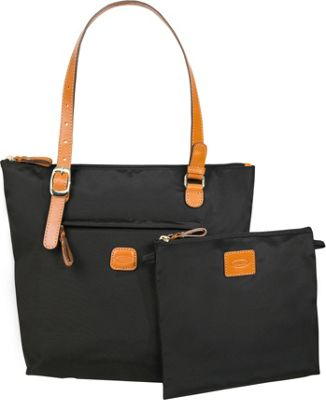 BRIC'S X-Bag Large Sportina Shopper Tote Black - BRIC'S All-Purpose Totes