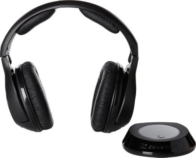 Sennheiser RS160 Wireless RF Headphones Black - Sennheiser Headphones & Speakers