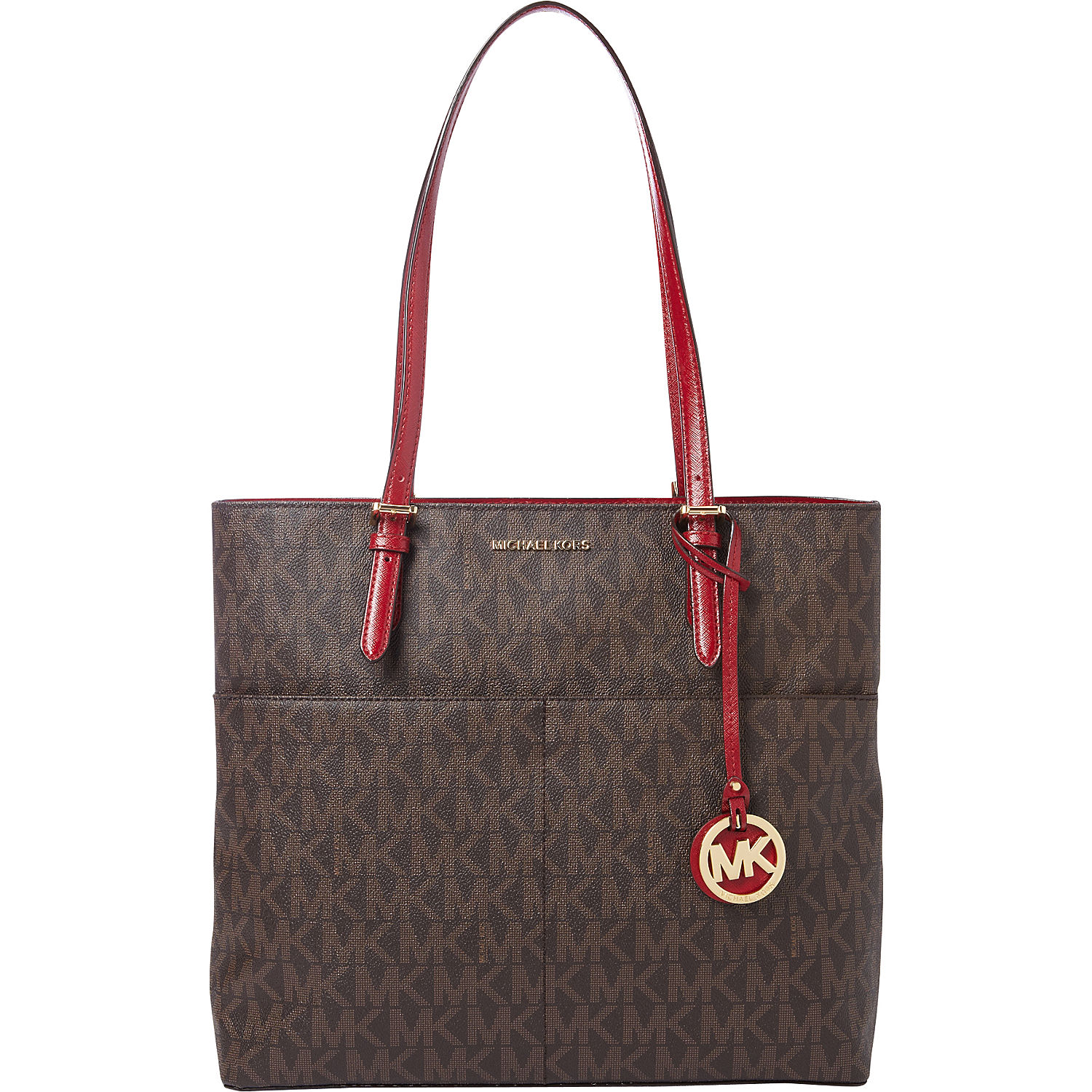Michael kors red bags prices