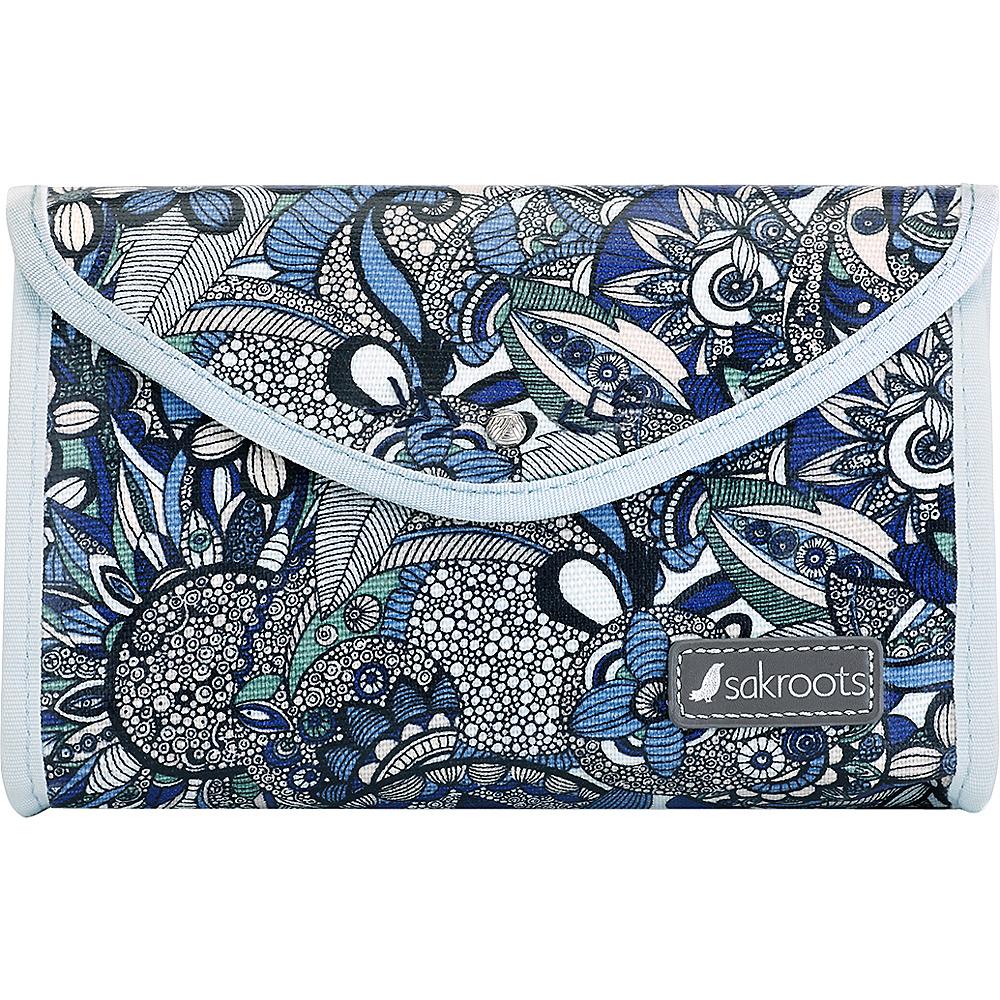 Sakroots The Artist Circle Flap Cosmetic Blue Steel Spirit Desert - Sakroots Womens SLG Other - Women's SLG, Women's SLG Other