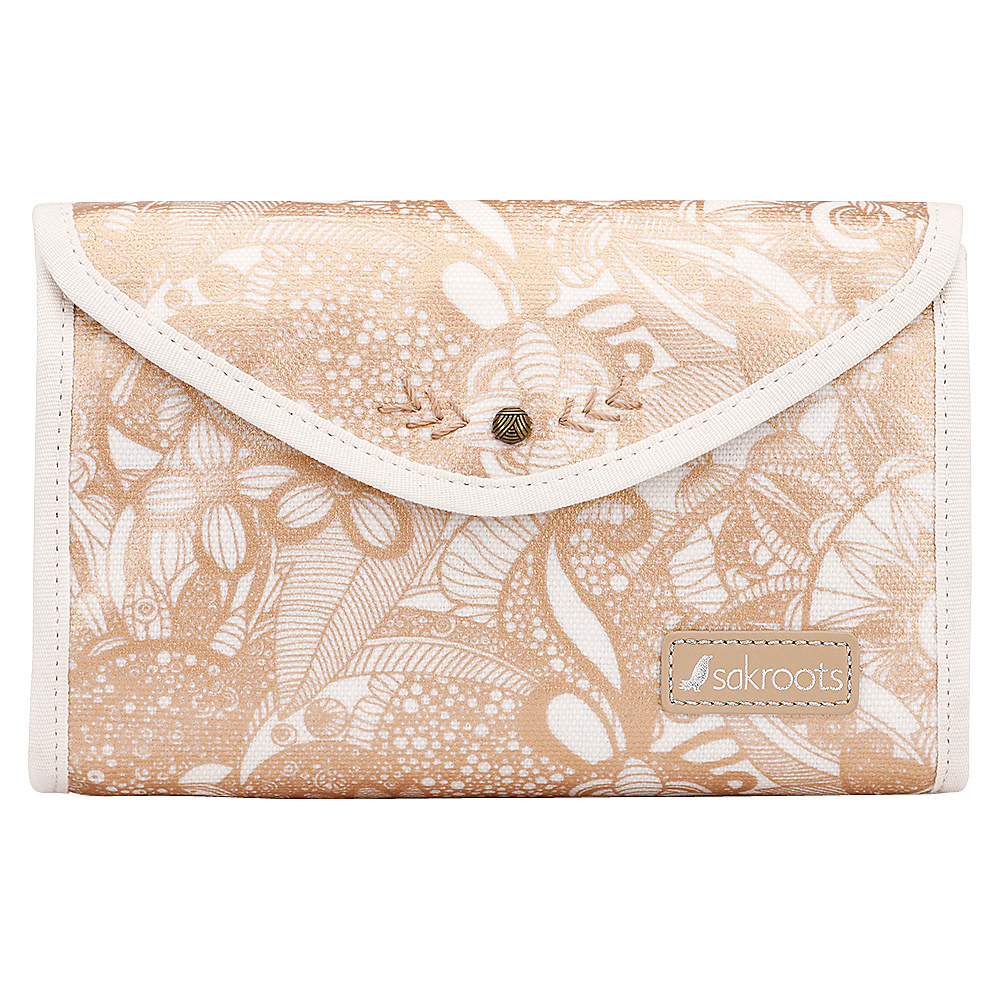 Sakroots The Artist Circle Flap Cosmetic Rose Gold Spirit Desert - Sakroots Womens SLG Other - Women's SLG, Women's SLG Other