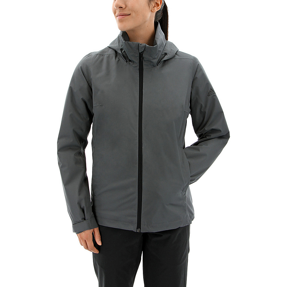 adidas outdoor Womens Wandertag Insulated Jacket L - Grey Five - adidas outdoor Womens Apparel - Apparel & Footwear, Women's Apparel