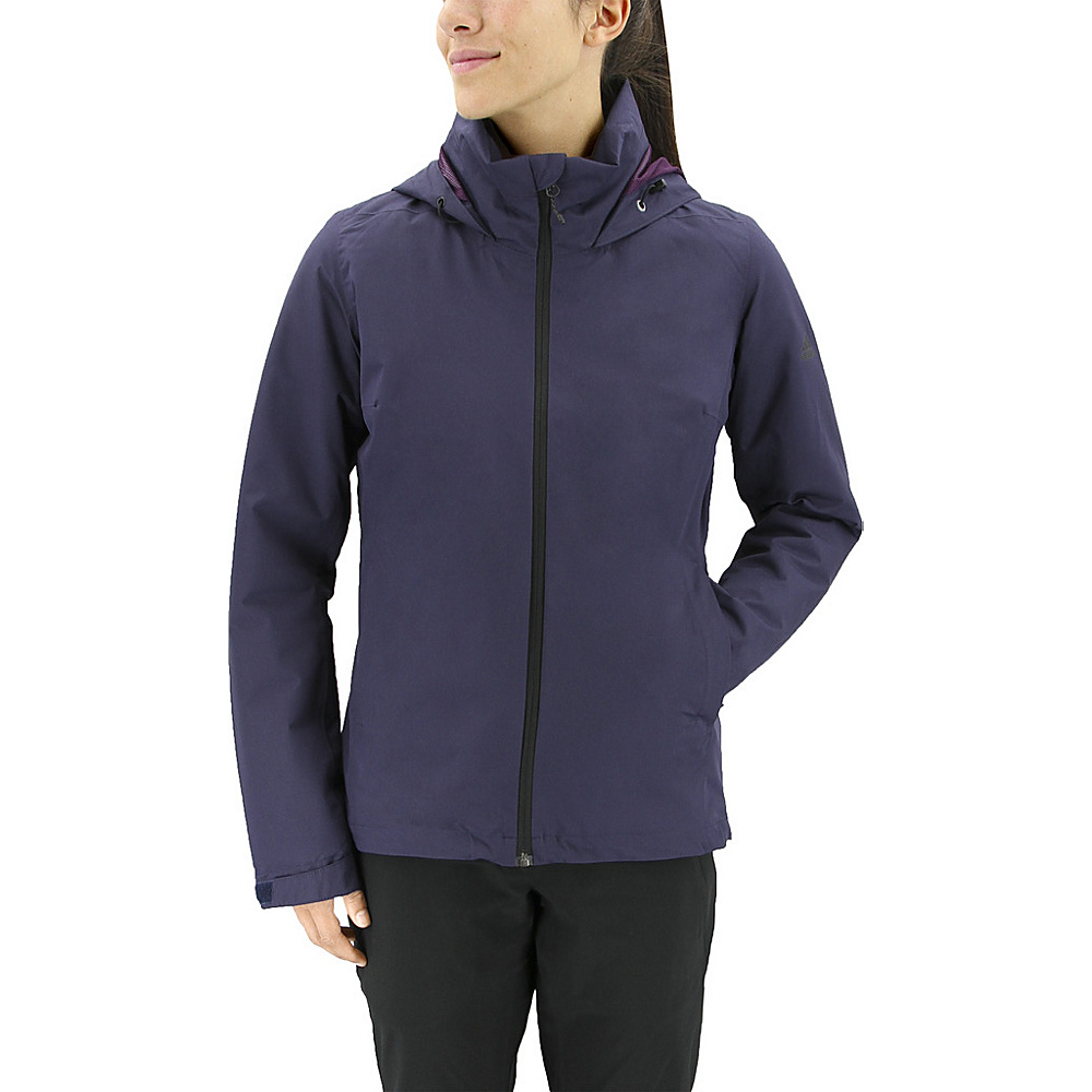 adidas outdoor Womens Wandertag Insulated Jacket M - Noble Ink - adidas outdoor Womens Apparel - Apparel & Footwear, Women's Apparel