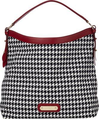 Davey's Hobo Houndstooth - Davey's Fabric Handbags