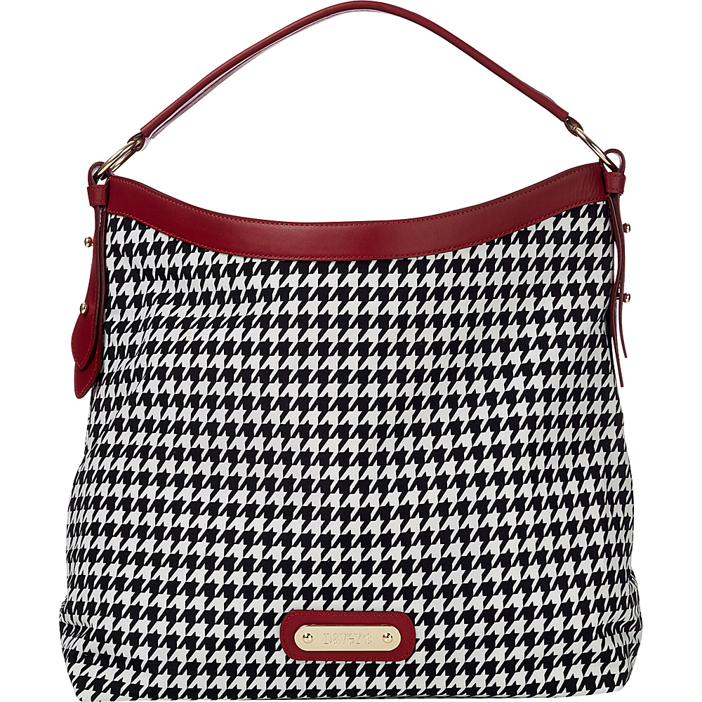Davey s Hobo Houndstooth Davey s Fabric Handbags